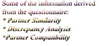 Video Introductions Partner Compatilbility Questionnaire searches